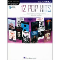 Hal Leonard 12 Pop Hits Clarinet