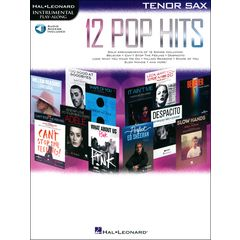 Hal Leonard 12 Pop Hits T-Sax