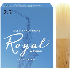 DAddario Woodwinds Royal Alto Sax 2,5