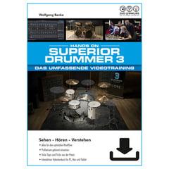 DVD Lernkurs Superior Drummer 3 Training