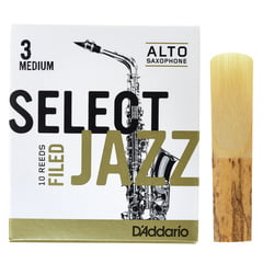 DAddario Woodwinds Select Jazz Filed Alto 3M