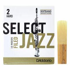 DAddario Woodwinds Select Jazz Filed Soprano 2H