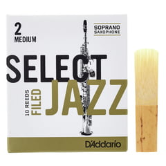 DAddario Woodwinds Select Jazz Filed Soprano 2M