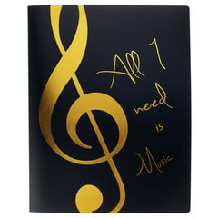 agifty Music Folder Gold