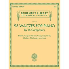 G. Schirmer 95 Waltzes For Piano