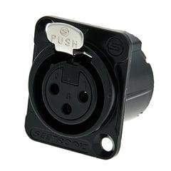 Seetronic MK3F2C-BG 3pin XLR black