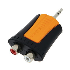 Seetronic MMJ3-2RF Adapter 3,5mm 2x RCA