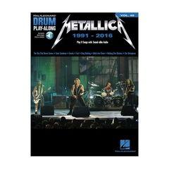 Hal Leonard Drum Play-Along Metallica 1991