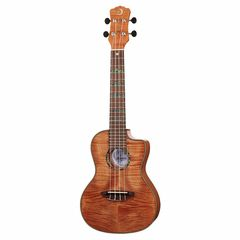 Luna Guitars High Tide Exotic Mahogany Conc