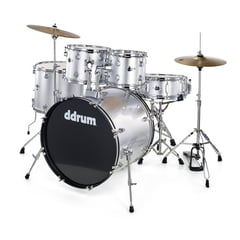 DDrum D2 Starter Set Silver Sparkle