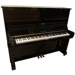 Yamaha U3C Piano used, Black Polished