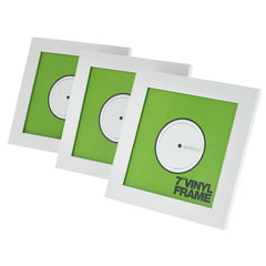 """Glorious 7"""" Vinyl Frame Set White"""