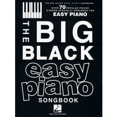 Hal Leonard The Big Black Easy Piano