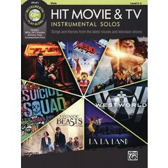 Alfred Music Publishing Hit Movie & TV Solos Viola