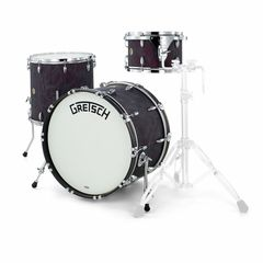 Gretsch Broadkaster Stand. Black Flame