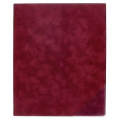 ge-gra-Muster Music Folder Scarlett Bordeaux