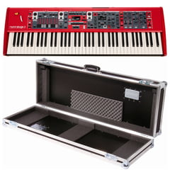 Clavia Nord Stage 3 HP76 Case Bundle