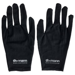 Thomann Cotton Gloves Black L