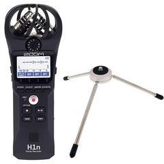 Zoom H1n Tripod Bundle