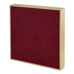 the t.akustik Spektrum A20 Absorber Bordeaux