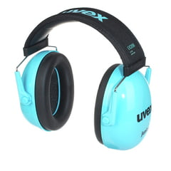 UVEX K Junior Ear Protector blue