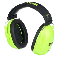 UVEX K Junior Ear Protector lime