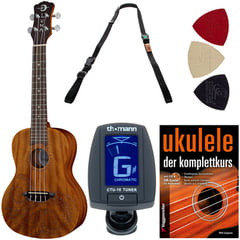 Luna Guitars Ukulele Concert Tattoo Set G