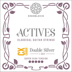 Knobloch Strings Double Silver Carbon 600ADC