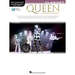 Hal Leonard Queen Clarinet Play-Along