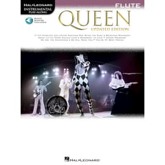 Hal Leonard Queen Flute Play-Along