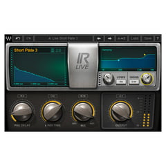 Waves IR-Live Convolution Reverb