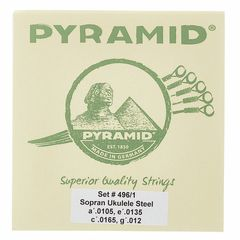 Pyramid 496/1 Soprano Ukulele Steel