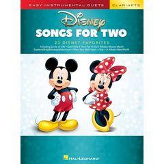 Hal Leonard Disney Songs For Two Clarinet