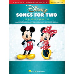 Hal Leonard Disney Songs For Two A-Sax