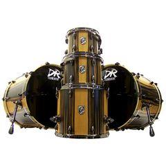 DR Customs Shell Set Ebony Double Bass