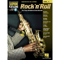 Hal Leonard Sax Play-Along Rock 'n' Roll