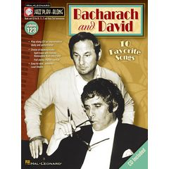 Hal Leonard Jazz Play-Along Bacharach