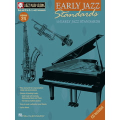 Hal Leonard Jazz Play-Along Early Jazz