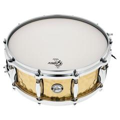 """Gretsch 14""""x5"""" Hammered Brass Snare"""