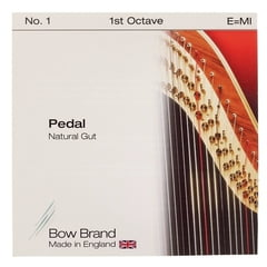 Bow Brand Pedal Natural Gut 1st E No.1