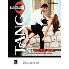 Universal Edition Tango Saxophone Duets