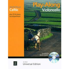 Universal Edition Celtic Play-Along Cello