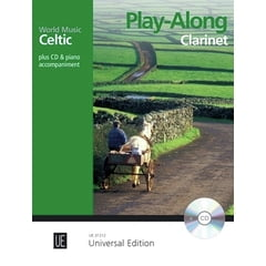 Universal Edition Celtic Play-Along Clarinet
