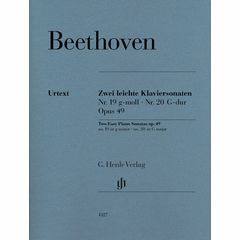Henle Verlag Beethoven Zwei Klaviersonaten