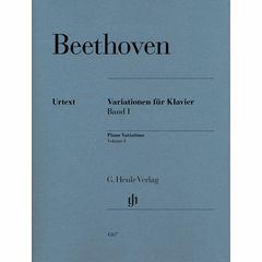 Henle Verlag Beethoven Variationen 1