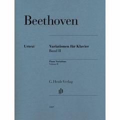 Henle Verlag Beethoven Variationen 2