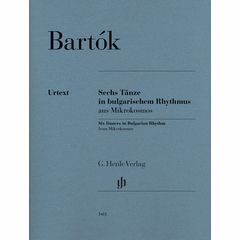 Henle Verlag Bartok Sechs Tänze