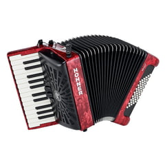 Hohner Bravo II 48 Red silent key