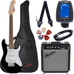 Fender Squier Mini Strat V2 BK Set SQ