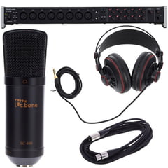 Tascam US-16x08 Recording Bundle